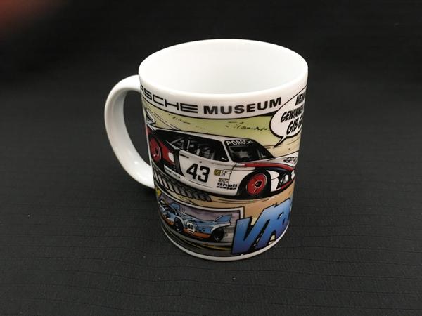 ポルシェ ミュージアム ドイツ ポルシェ ミュージアム限定品 マグカップ サイズ 高さ9.5cm 直径8cm