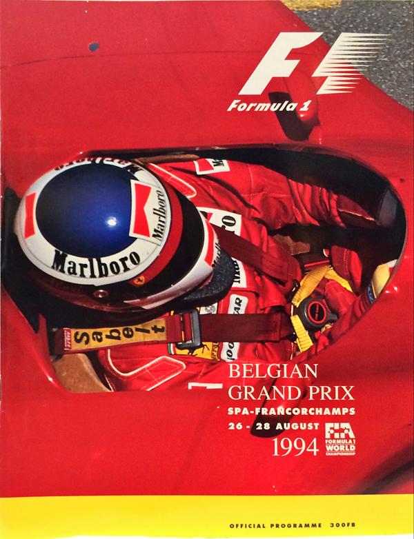F1公式プログラム 1994年ベルギーGP