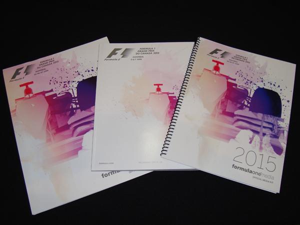 F1公式プログラム 2015年カナダGP(メディアキット付)