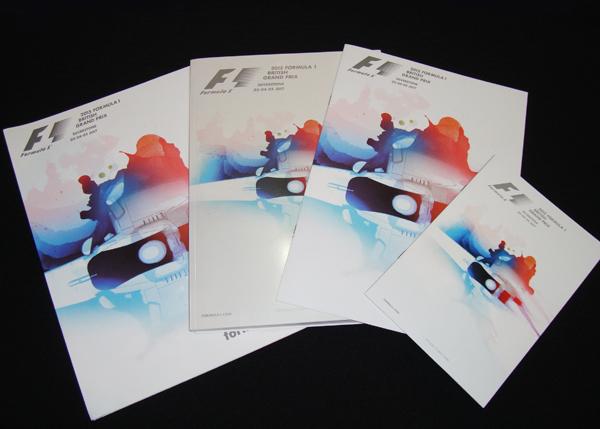F1公式プログラム 2015年イギリスGP(メディアキット付)
