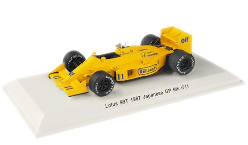 レーヴコレクション 1/43 ロータス HONDA ホンダ 99T 中嶋悟 1987年日本GP6位 No.11