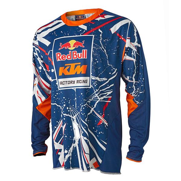 レッドブル MOTOGP KTM ファクトリーレーシング チームロゴパフォーマンスTシャツ