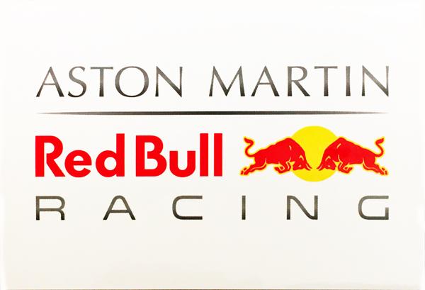 ASTON MARTIN REDBULL RACING レッドブルレーシング プロモーションステッカー