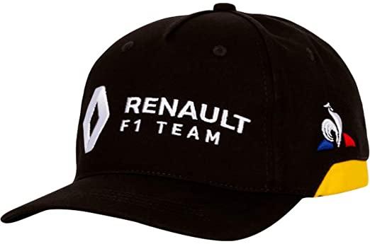 2019 ルノー F1チーム チームキャップ ブラック