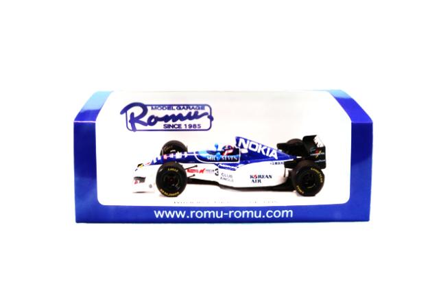 MODEL GARAGE ROMU ロム別注 スパーク 1/43 ティレル 023 片山右京 1995年日本GP 限定