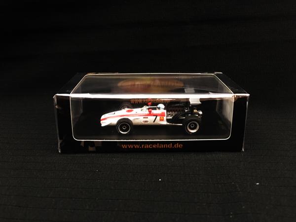 レースランド別注 スパーク 1/43 ホンダ RA301V12 F1 J.サーティース 1968年ドイツGP No.7