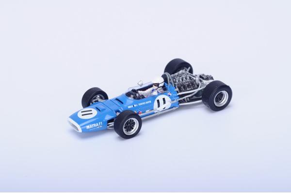 スパーク 1/43  マトラ MS10 Johnny Servoz-Gavin 1968年モナコGP  No.11