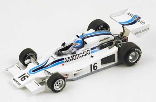 スパーク 1/43 シャドー DN8 R.Zorzi 1977年ロングビーチGP No.16