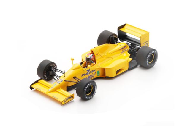 スパーク 1/43 ロータス 102 J.ハーバート 1990年日本GP No.12