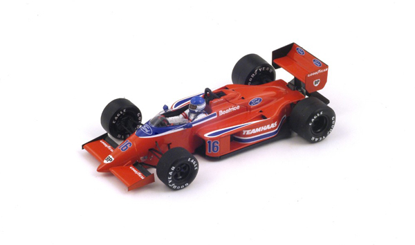 スパーク 1/43 ベアトリス ローラ THL2 P.タンベイ  1986年ベルギーGP No.16