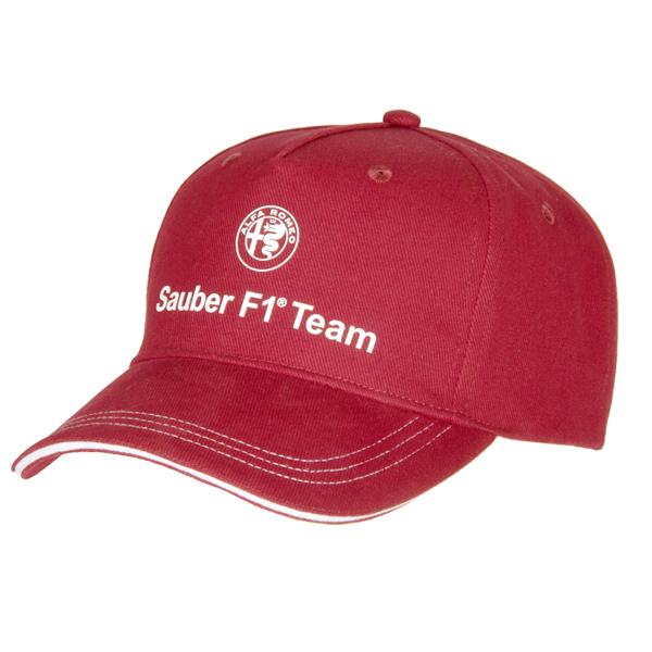 2018アルファロメオ ザウバー F1 チームキャップ