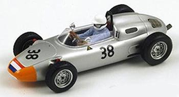 スパーク 1/43 ポルシェ 718  C.G.ド・ボーフォール 1962年F1 フランスGP 6位 No.38