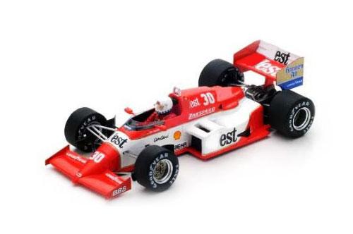 スパーク 1/43 ザクスピード 841 C.ダナー 1985年ベルギーGP No.30