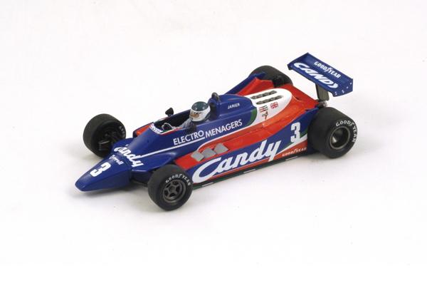 【再入荷】スパーク 1/43 S6051 ティレル 010 ジャリエ 1980年 ベルギーGP