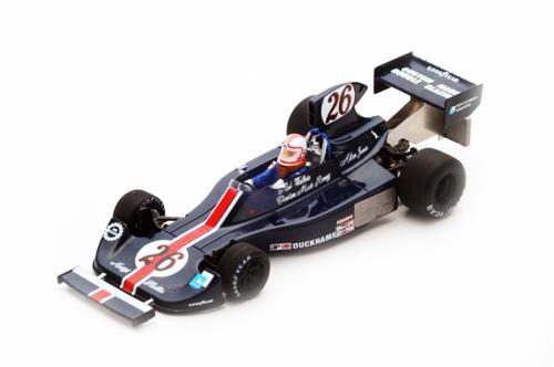 スパーク 1/43 ヘスケス 308 A.ジョーンズ1975年モナコGP No.26