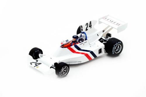 スパーク 1/43 ヘスケス 308 J.ハント 1974年スエーデンGP3位 No.24