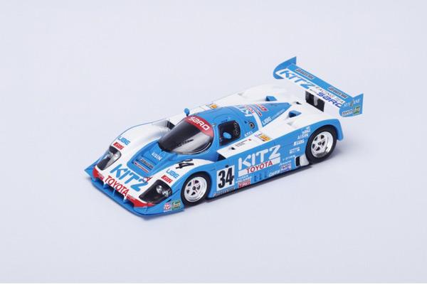 スパーク 1/43 TOYOTA(トヨタ) 92C-V 1992年ルマン24時間9位 No.34 R. Ratzenberger - E. Elgh - E.Irvine
