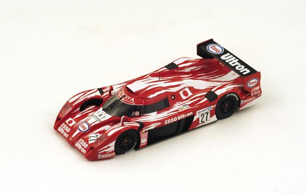 スパーク 1/43 TOYOTA(トヨタ) TS020 GT-One No.27 1998年ルマン24時間9位 K. 土屋圭市/片山右京/鈴木利男