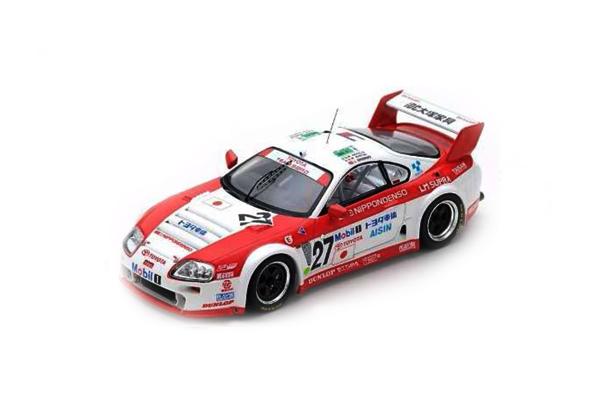 スパーク 1/43 TOYOTA スープラ GT LM 1995年ルマン24時間レース14位 No.27 M.アピチェラ-M.マーティン-J.クロスノフ