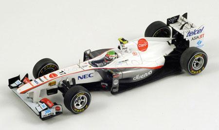 スパーク 1/43 ザウバー C30 S.ペレス 2011年中国GP NO.17