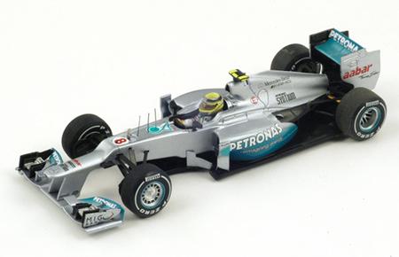 【ミニカーフェア対象】スパーク 1/43 メルセデス AMG W03 N.ロズベルグ 2012年中国GPウィナー NO.8