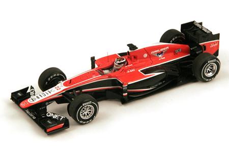 【海外別注】スパーク 1/43 マルシャ MR02 J.ビアンキ 2013年マレーシアGP No.22