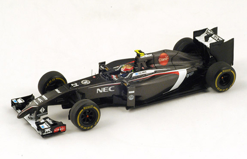 スパーク 1/43 ザウバーC33 E.グティエレス 2014年オーストラリアGP  NO.21