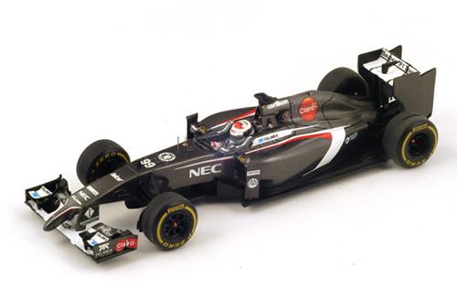 スパーク 1/43 ザウバーC33 E.スーティル 2014年オーストラリアGP  NO.99
