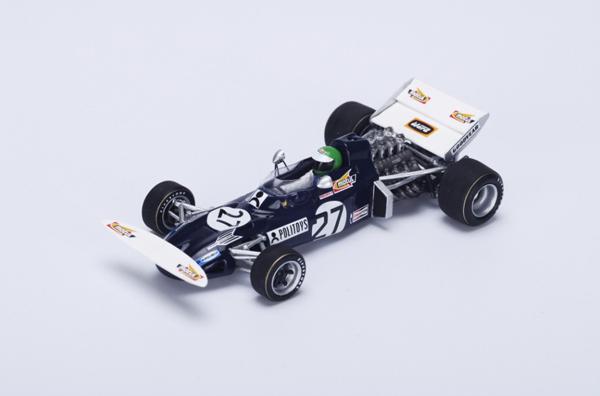 スパーク 1/43  マーチ711 H.ペスカロロ 1971年スペインGP No.27