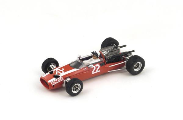 スパーク 1/43  クーパー T81 J.ボニエ  1966年メキシコGP6位 No.22