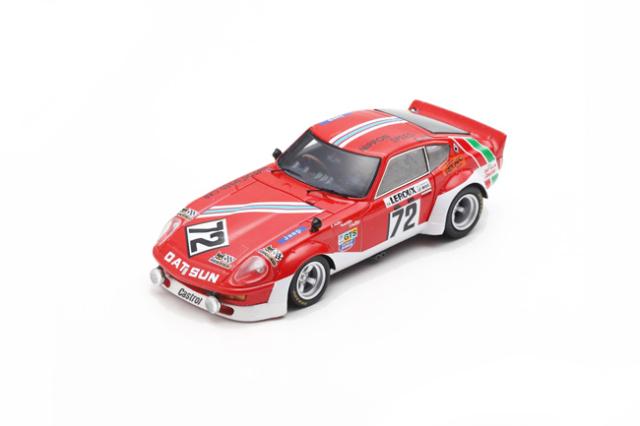 スパーク 1/43 ダットサン 240Z 1975年ルマン24時間レース A.Haller-H.Schuller-B.Maechler