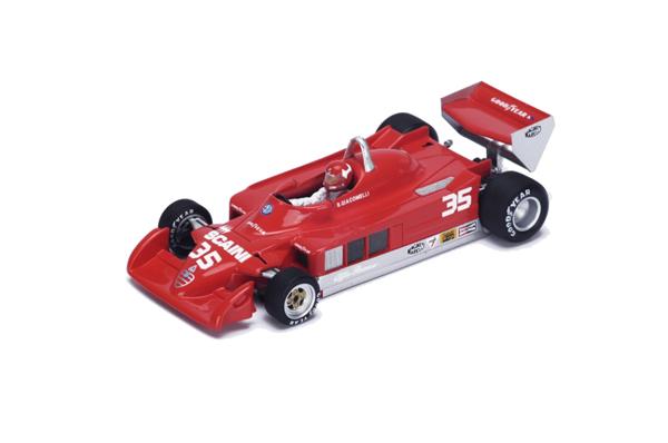 スパーク  1/43 アルファロメオ 177 B.ジャコメリ 1979年ベルギーGP No.35
