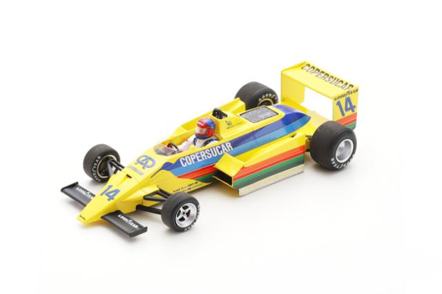 【2021年5月発売予定ご予約商品2/4締切】スパーク 1/43 S3936 コパスカー F6 E.フィッティパルディ 1979年南アフリカGP No.14
