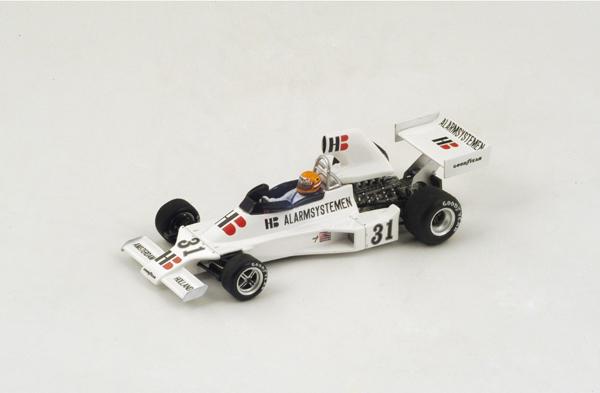 スパーク 1/43 エンサイン N175  G.V.レネップ 1975年フランスGP No.31