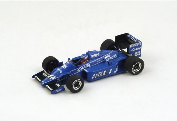 スパーク 1/43 リジェ JS25 P.ストレイフ 1985年オーストラリアGP3位 No.25