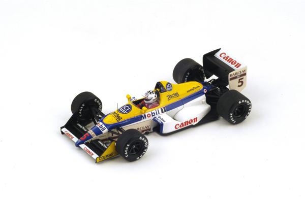 スパーク 1/43 ウィリアムズ FW12 J.L.シュレッサー 1988年イタリアGP No.5