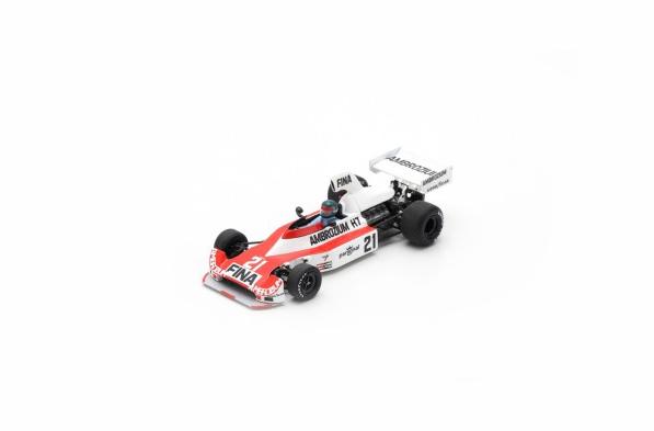 スパーク 1/43 ウィリアムズ FW04 J.ラフィー 1975年ドイツGP2位 No.21