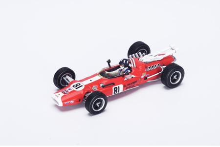 スパーク  1/43 ロータス 42F G.ヒル 1967年インディ500 No.81