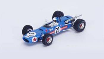 スパーク 1/43 マトラ MS7 J.P.ベルトワーズ 1968年南アフリカGP6位 No.21
