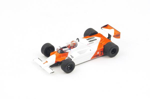 スパーク  1/43 マクラーレン MP4/1 J.ワトソン 1981年イギリスGP優勝 No.7