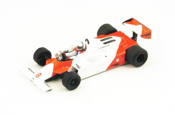 スパーク  1/43 マクラーレン MP4/1  A.チェザリス 1981年モナコGP No.8