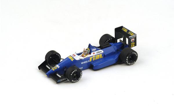 スパーク  1/43 リアル ARC1 A.チェザリス 1988年ベルギーGP No.22