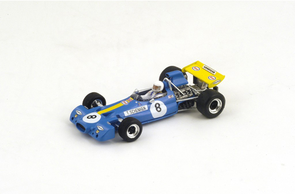 スパーク 1/43 ブラバム BT33  T.シェンケン 1971年オーストリアGP3位 No.8
