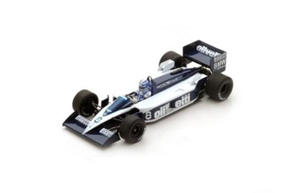 スパーク 1/43 ブラバム BT55 D.ワーウィック 1986年カナダGP No.8