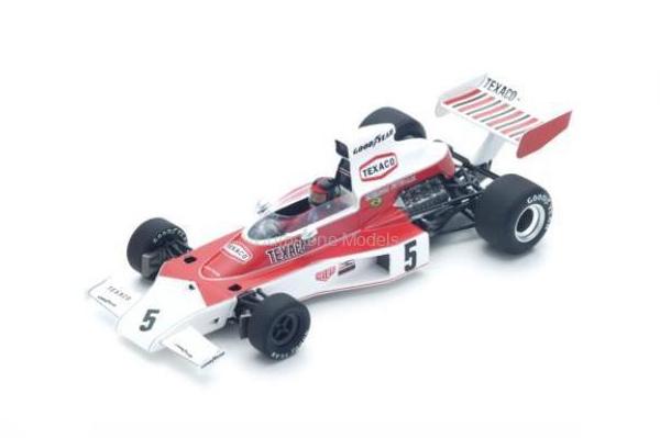 スパーク 1/43 マクラーレン M23  E.フィッティパルディ 1974年ブラジル」GP優勝 No.5