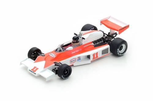 スパーク 1/43 マクラーレン M23 J.ハント 1976年フランスGP優勝 No.11