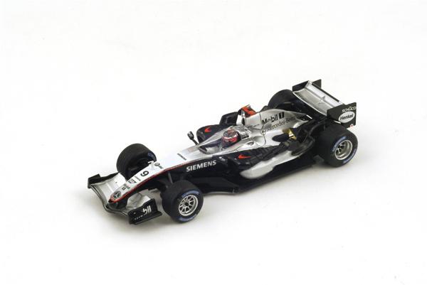 スパーク 1/43 マクラーレン MP4-20 K.ライコネン 2005年モナコGP優勝 No.9