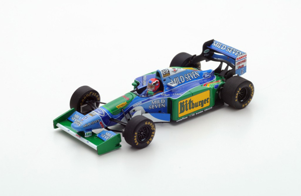 スパーク 1/43 ベネトン B194 J.ハーバート 1994年オーストラリアGP 1994 No.6