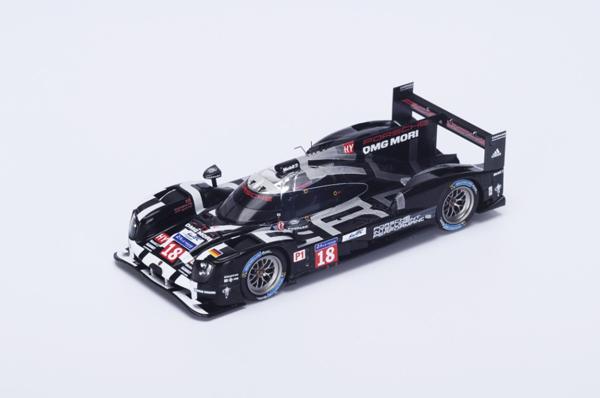 スパーク 1/43  ポルシェ 919 Hybrid  2015年ルマン24時間LMP1 5位 No.18 R.Dumas - N.Jani - M.Lieb No.18