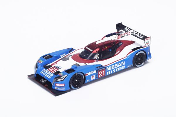 スパーク 1/43 Nissan GT-R LM Nismo LMP1 Nissan Motorsports No.21 2015ルマン24時間レース